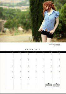 The Official Venus O'Hara 2011 Calendar