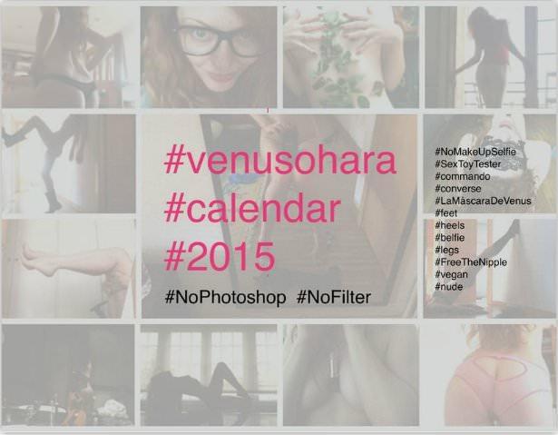 Venus O'Hara's Official Calendar 2015