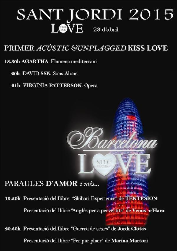 LoveStop BCN St Jordi