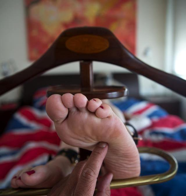 My Feet Demand Attention