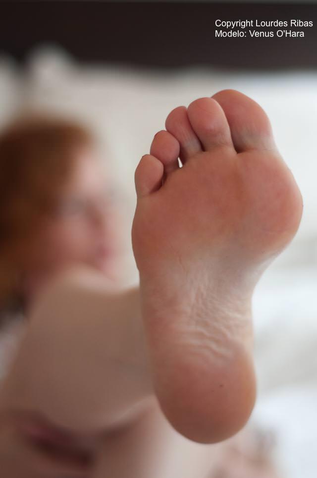 Foot Fetish Model Venus O'Hara by Lourdes Ribas -0012