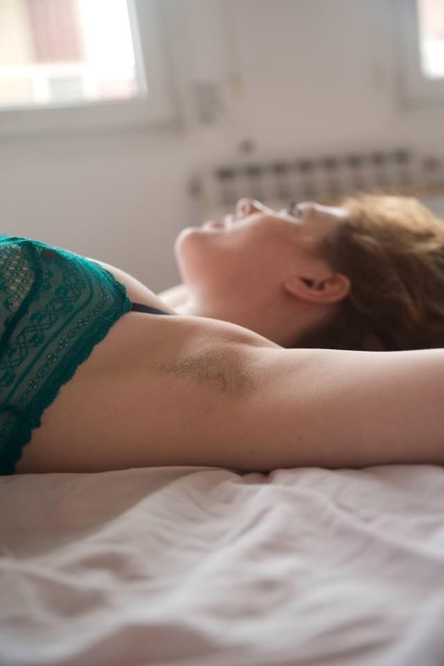 Hairy Armpits Fetish Venus O'Hara by Mr Tickle BCN-0006