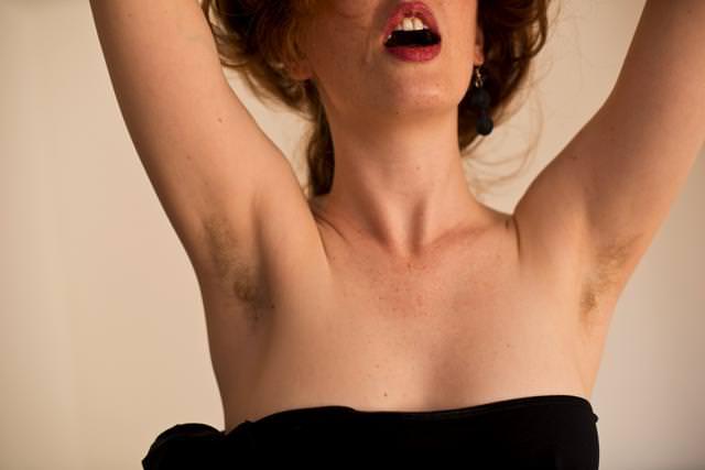 Even Hairier Pits Venus O'Hara by Mr Tickle BCN-0032