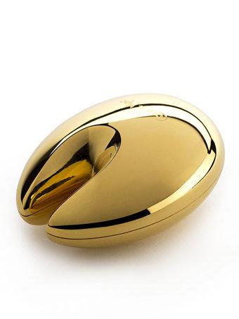 nell coco de mer, Nell Pleasure Seed Vibrator 18K Gold Plate from Coco de Mer, venusohara, venus o'hara, venusohara.org