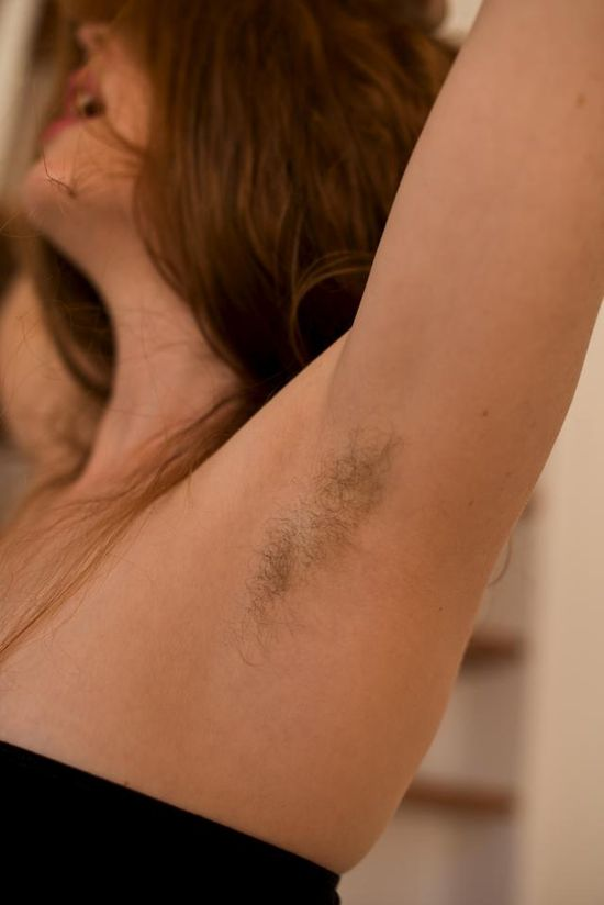 hairy armpits venus o'hara by mr tickle bcn