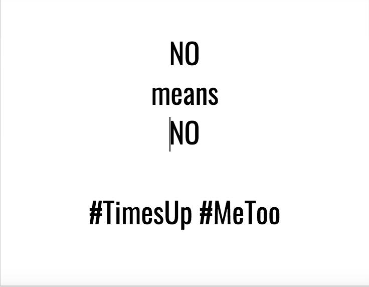No Means No