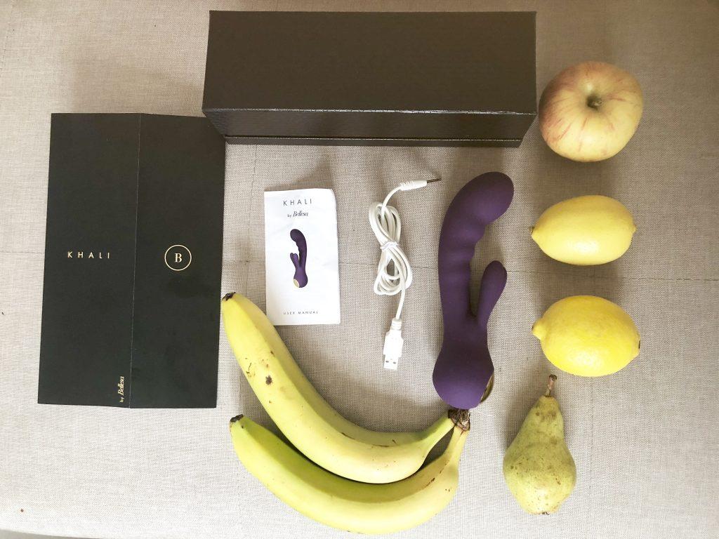 Khali from Bellesa, rabbit vibrator, dual stimulation, clitoral stimulation, g spot stimulation, external stimulation, venusohara, venusohara.org, rechargeable vibrators