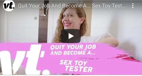 Quit Your Job – Become a Sex Toy Tester