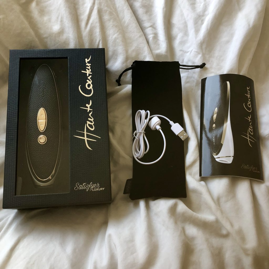 Haute Couture, Clitoral Stimulators, Clitoral Suction Toys, Clitoral stimulation, Nipple stimulation, Satisfyer Sex Toy Reviews, Vibrators, Satisfyer Luxury, female orgasm, orgasmic lifestyle, venus o'hara