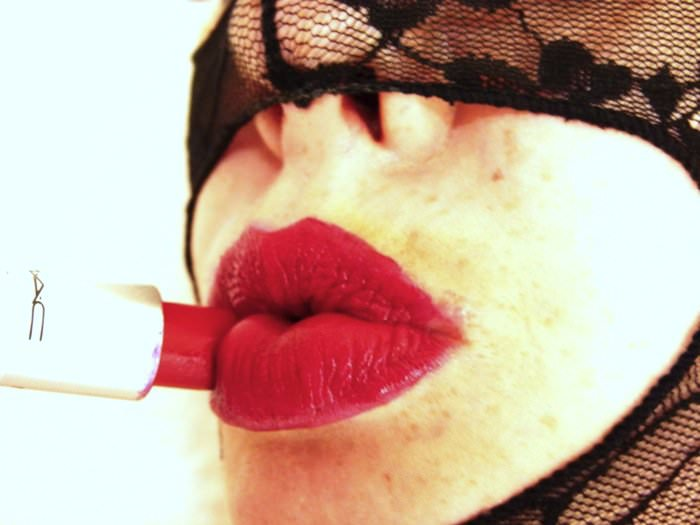 Red lipstick Fetish - Venus O'Hara