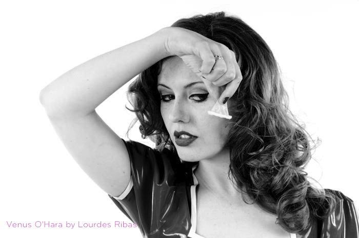 Condom Fetish Venus O'Hara by Lourdes Ribas 2