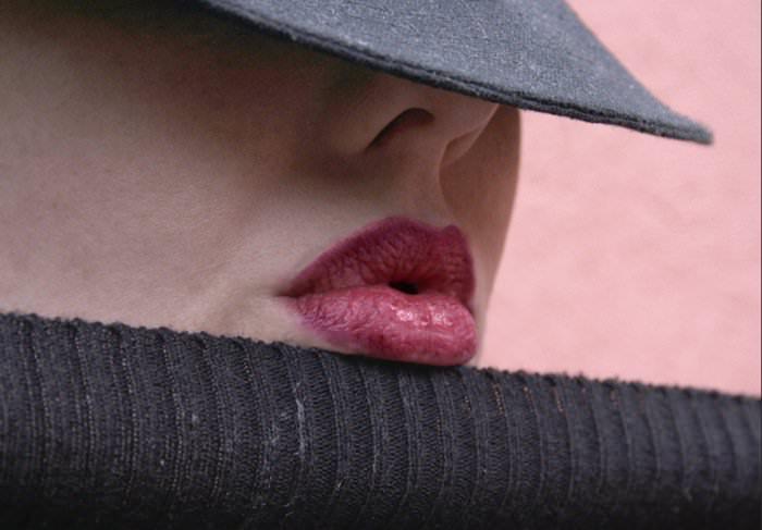 Full Natural Lips Fetish – Venus O'Hara